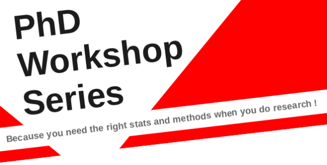 Phd workshop series launch